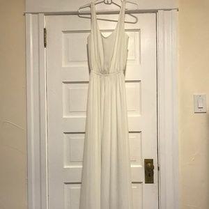 Show Me Your Mumu, White, XS Bridesmaid Dress
